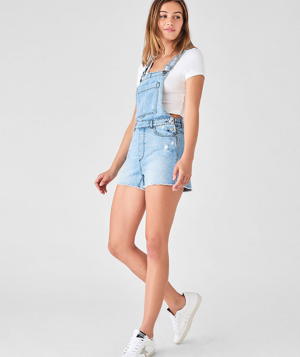DL8188 Women's Abigail Denim Overalls