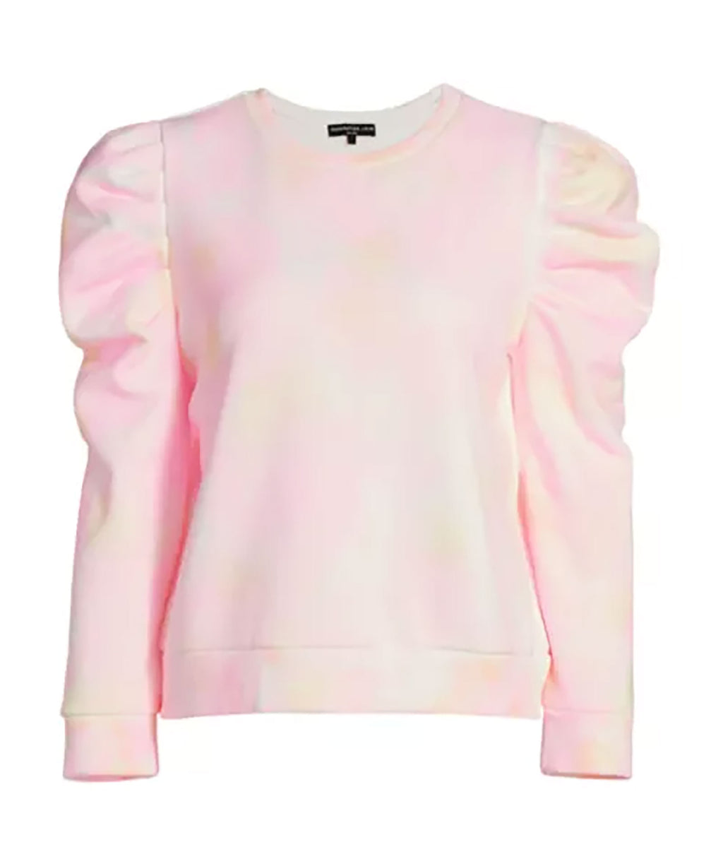 Generation Love Women Pearl Neon Tie-Dye Sweatshirt