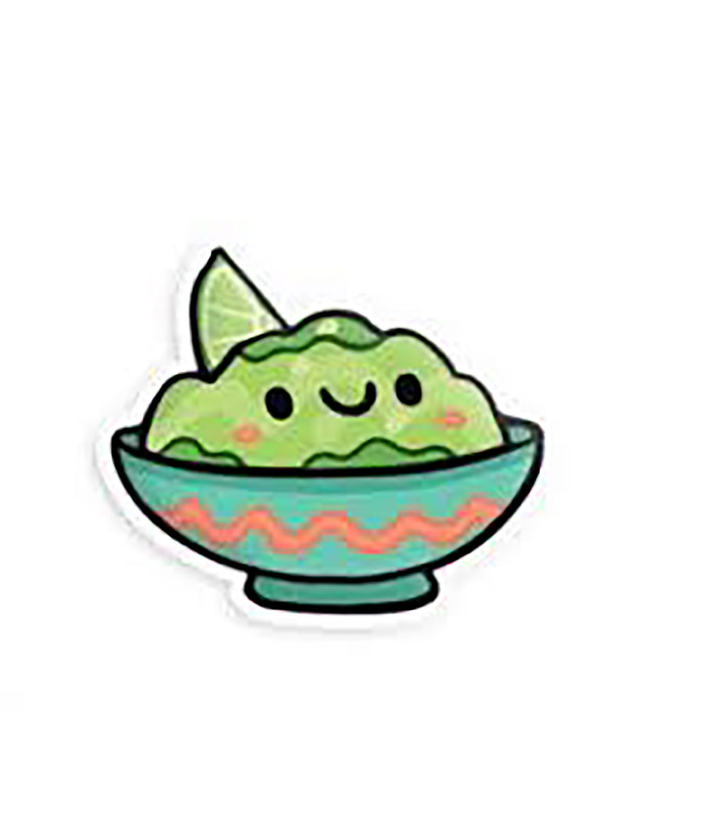 Squishable Vinyl Sticker Guacamole