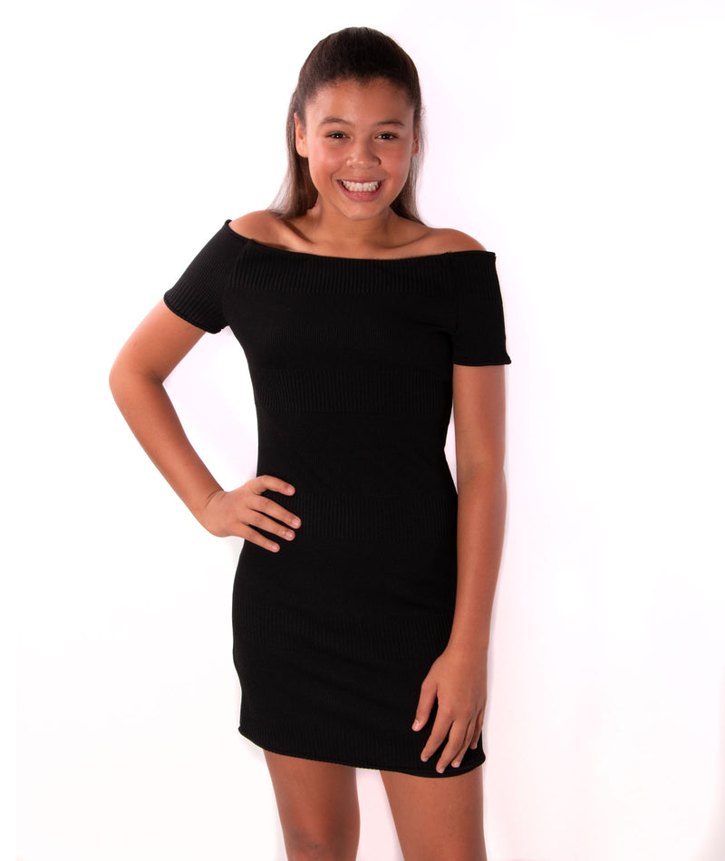 Zoe Ltd. Girls Neoprene Dress
