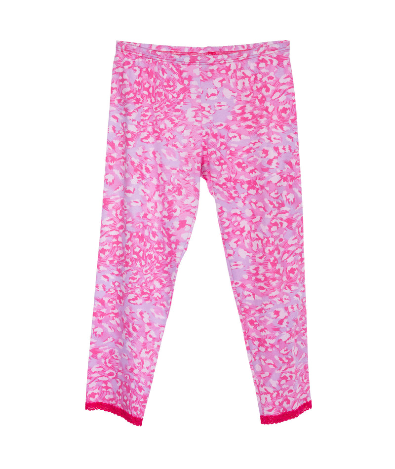 Esme Girls Shimmer Cheetah Pajama Set