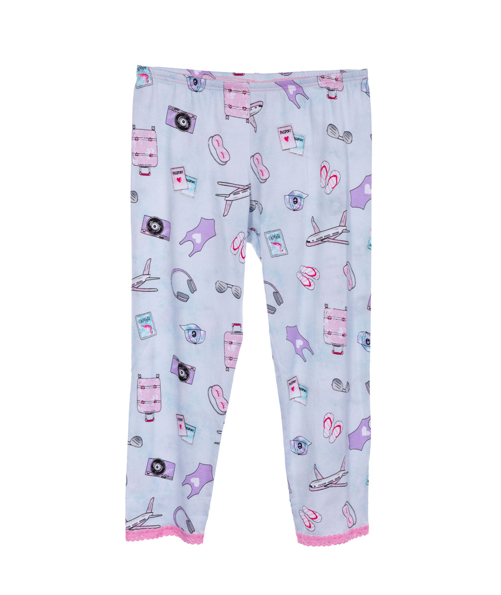 Esme Girls Travel Pajama Set