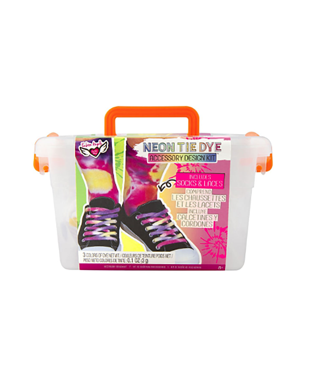 Fashion Angels Tie-Dye Sock Laces Crate