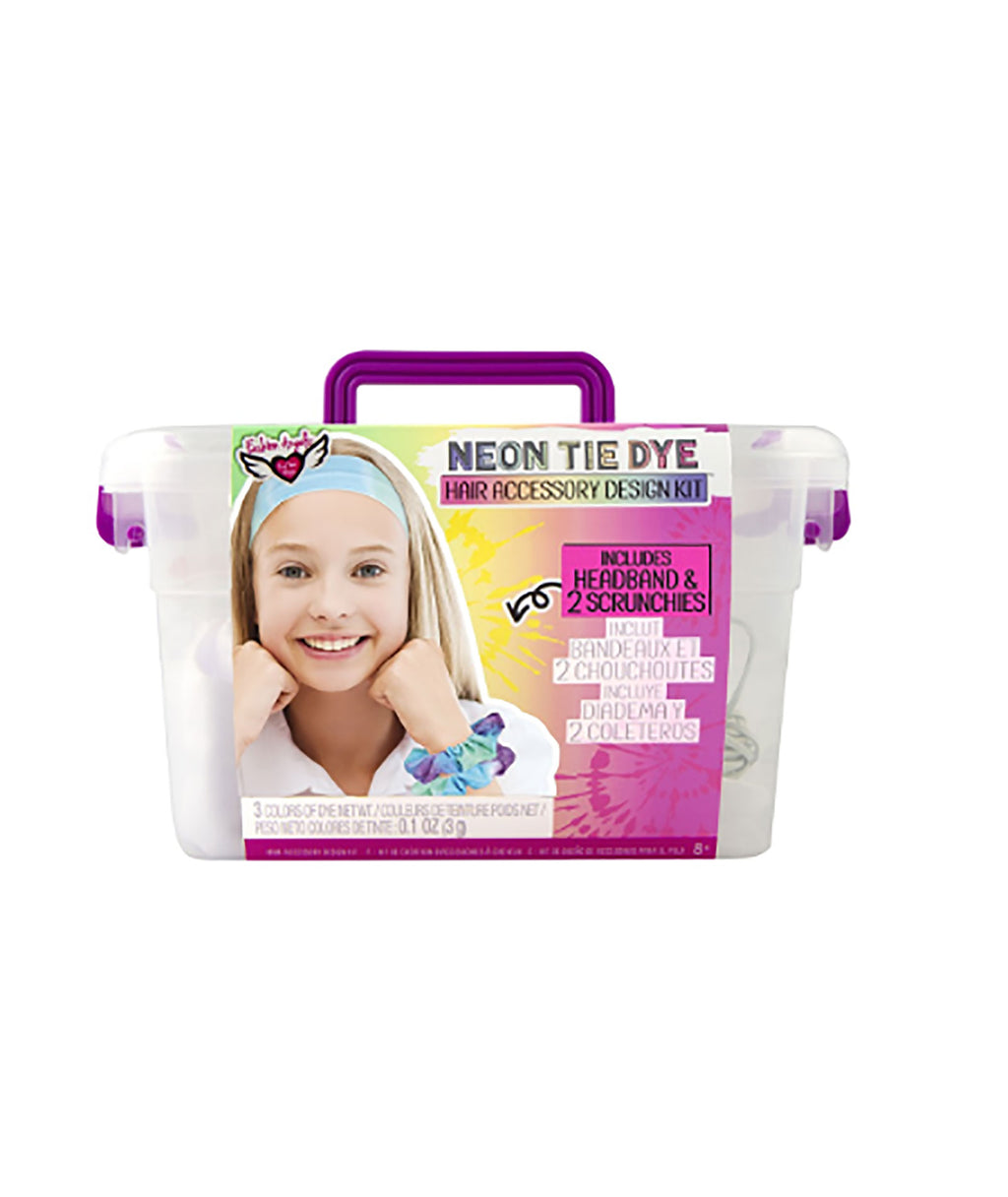 Fashion Angels Tie-Dye Hair Accessory Crate