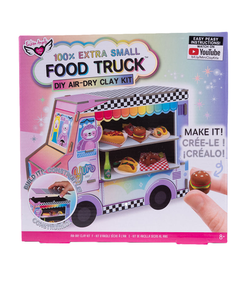 Fashion Angels Food Truck DIY Air-Dry Clay Kit