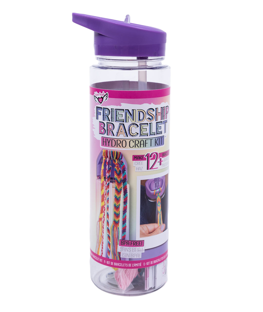 Fashion Angels Friendship Bracelet Hydro-Craft Water Bottle Kit