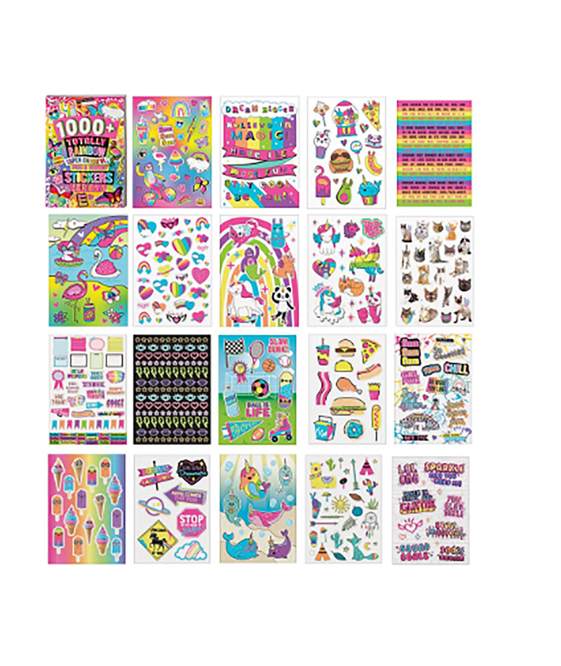 Fashion Angels 1000 Totally Rainbow Sticker Book