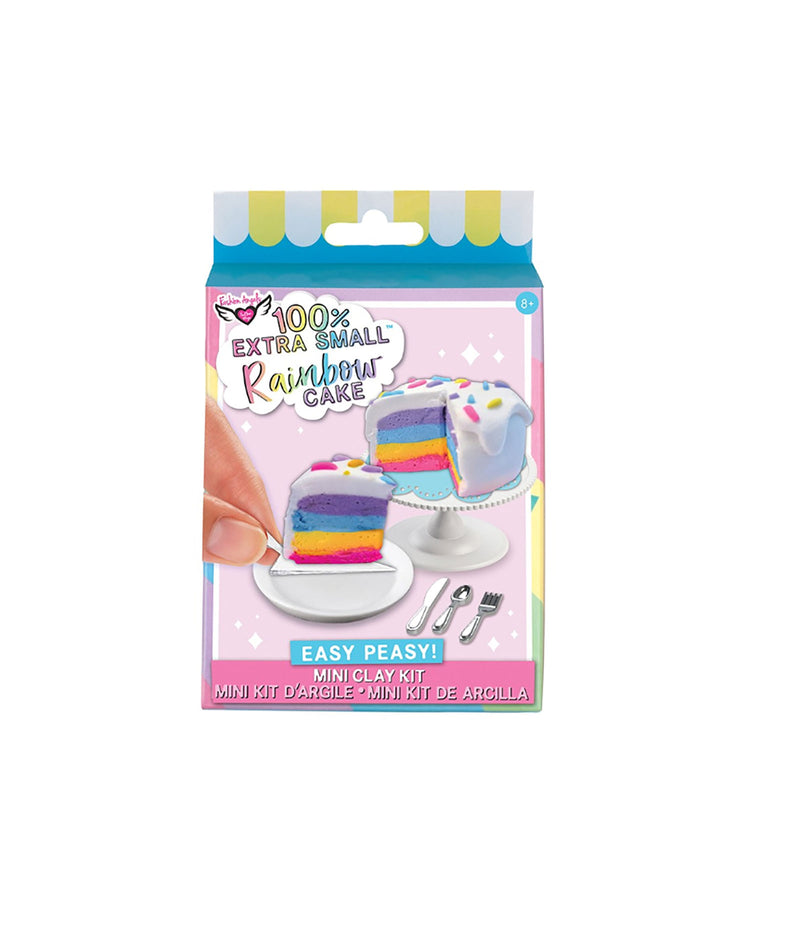 Fashion Angels Mini Clay Rainbow Cake Kit
