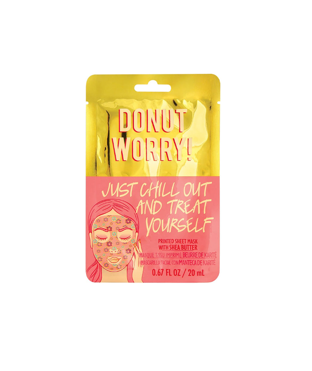 Fashion Angels Donut Worry Face Mask
