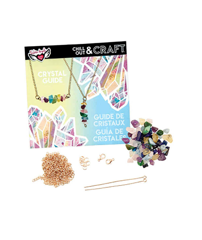 Fashion Angels Chill Out & Craft Crystal Necklace Kit