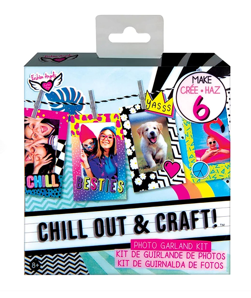 Fashion Angels Chill Out & Craft Photo Garland Kit