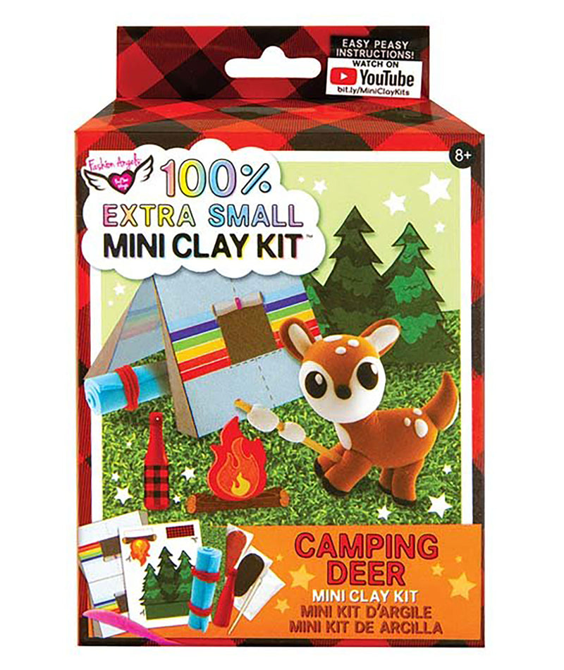 Fashion Angels Mini Clay Camping Deer Kit