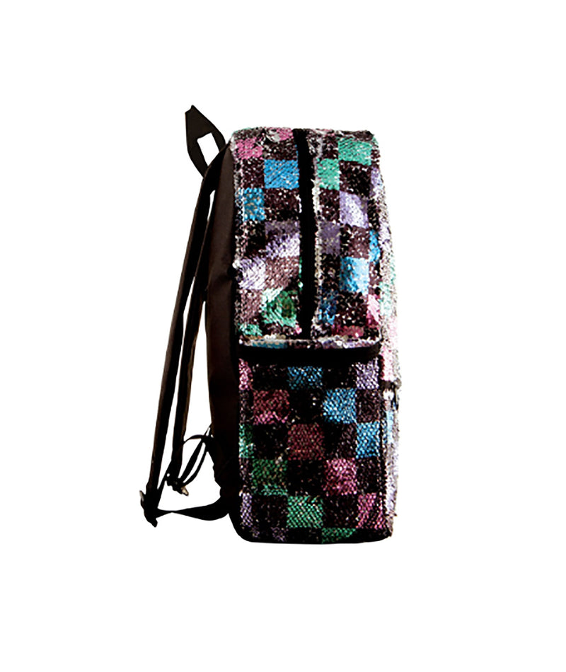 Fashion Angels Checker Board Sequin Backpack