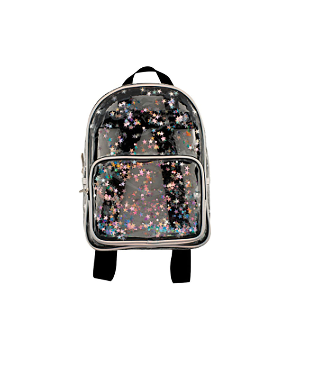 Fashion Angels Transparent Star Mini Backpack