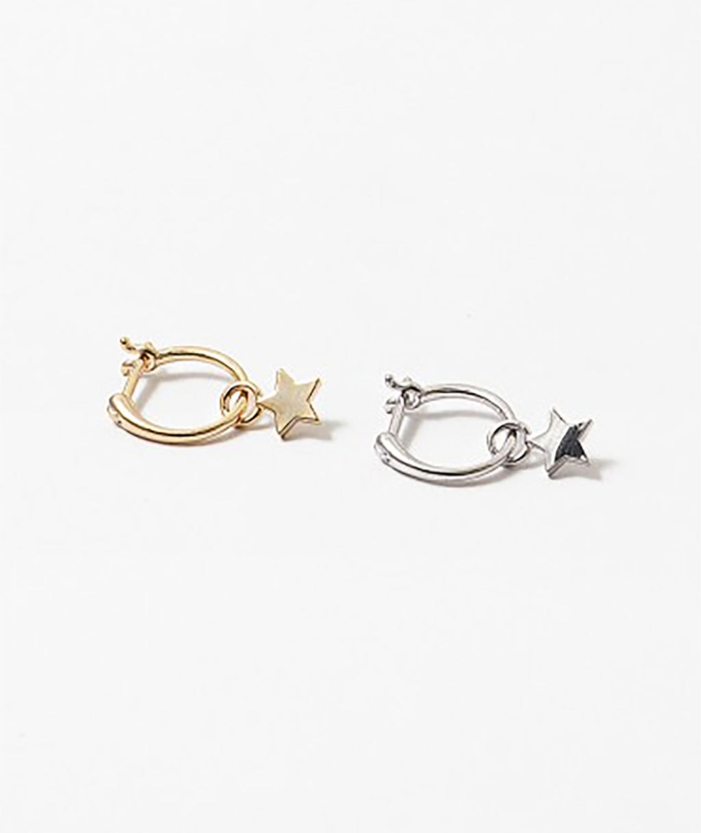 Fashionista J Gold Star Earrings