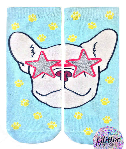 Living Royal Frenchie Fame Glitter Socks