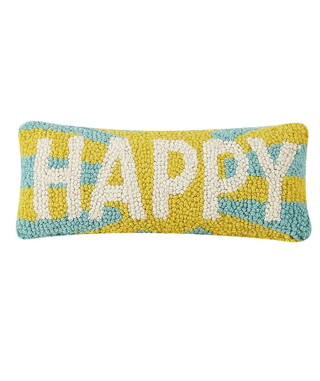 Happy Hook Pillow