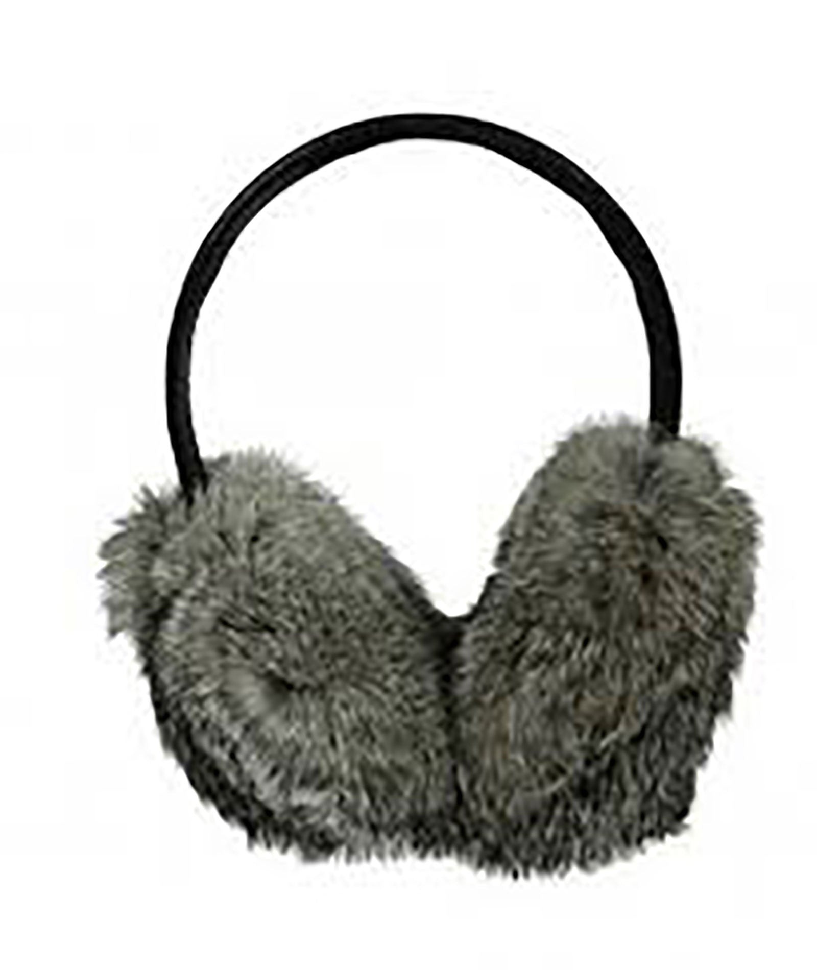 Hat Attack Black Fur Earmuffs