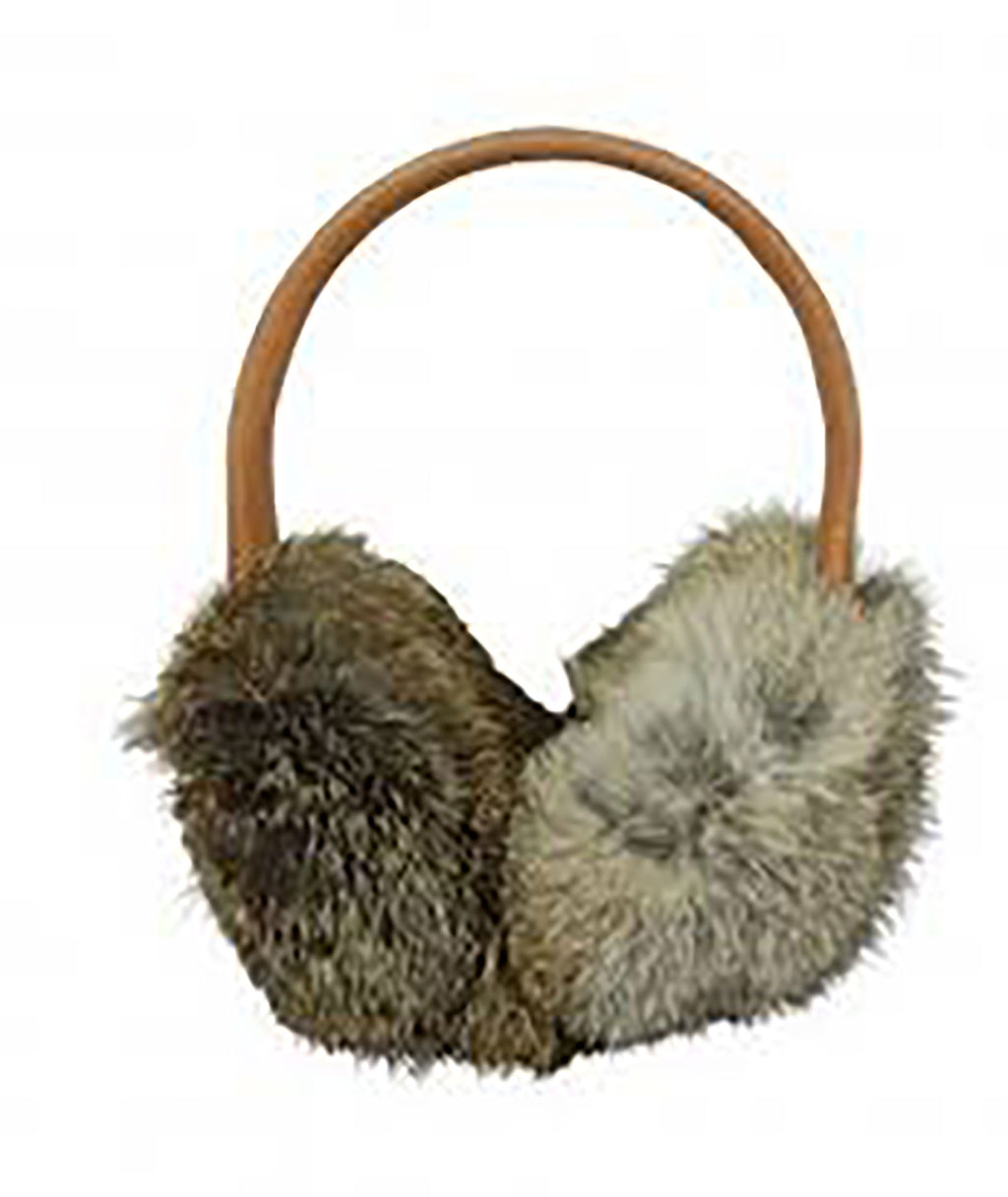 Hat Attack Brown Fur Earmuffs - Frankie's on the Park