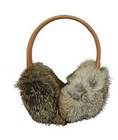 Hat Attack Brown Fur Earmuffs