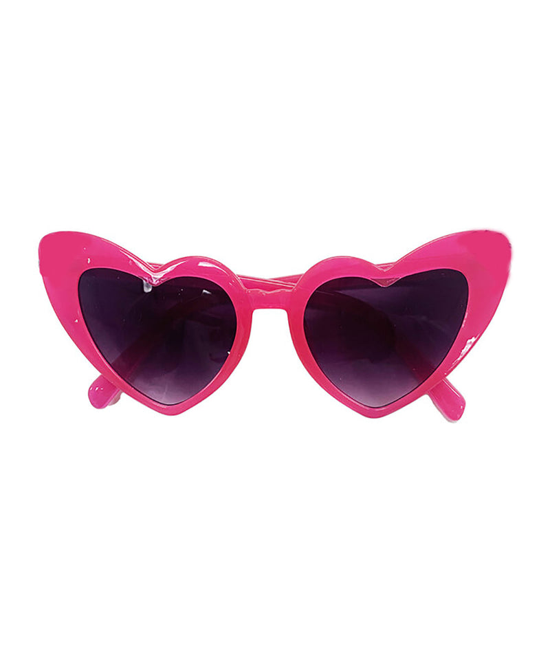 Bari Lynn Heart Sunglasses