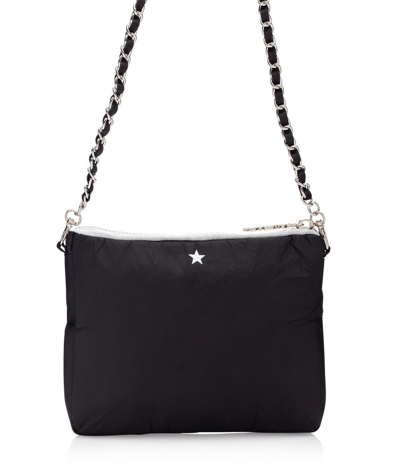 Hi Love Travel Black Star Purse