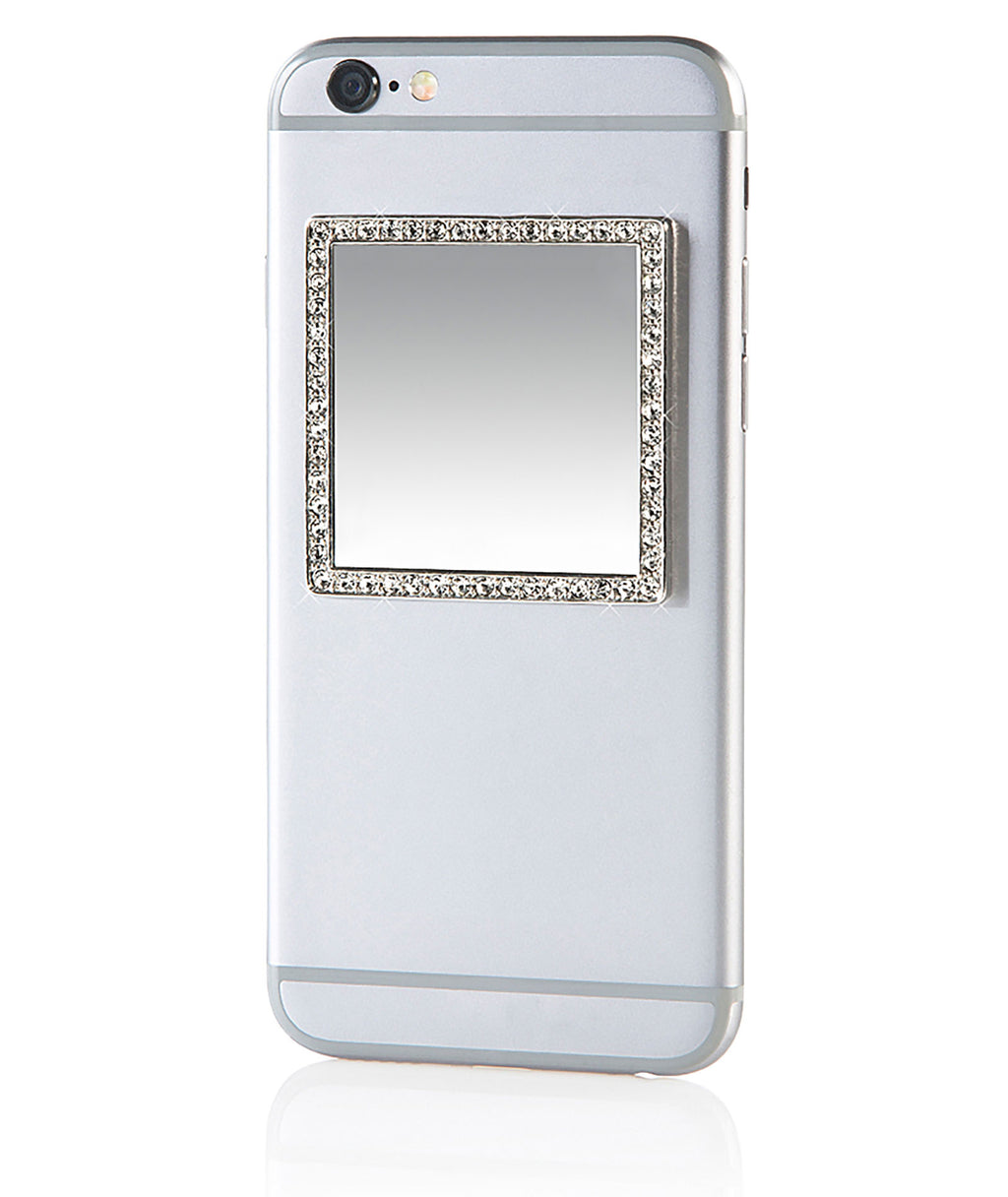 iDecoz Silver Square Cell Phone Mirror - Frankie's on the Park