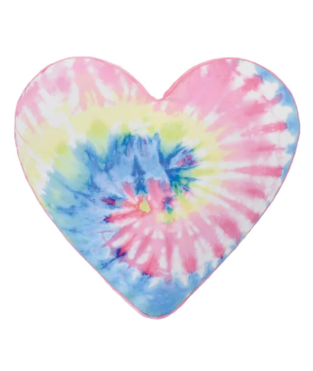 iScream Tie Dye Heart Pillow