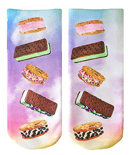 Living Royal Ice Cream Sandwich Socks