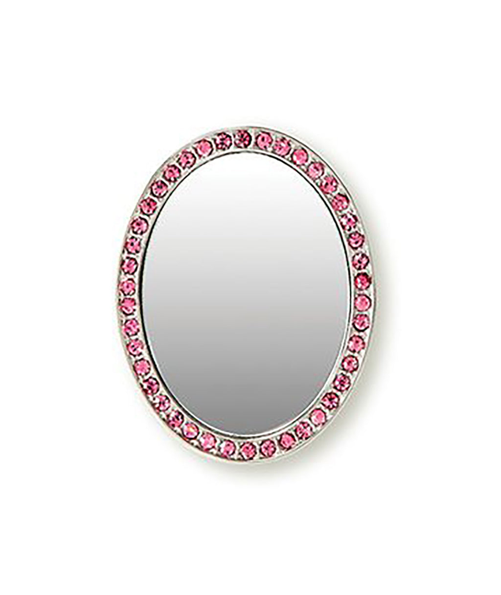 iDecoz Pink Oval Cell Phone Mirror