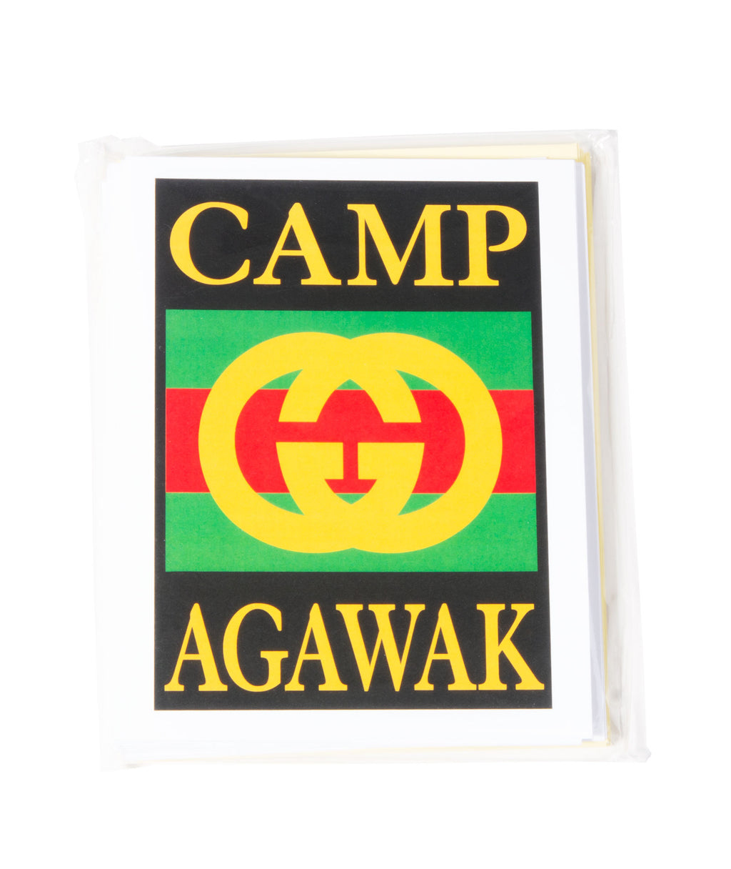 Pack of 10 Cards Camp Name Gucci