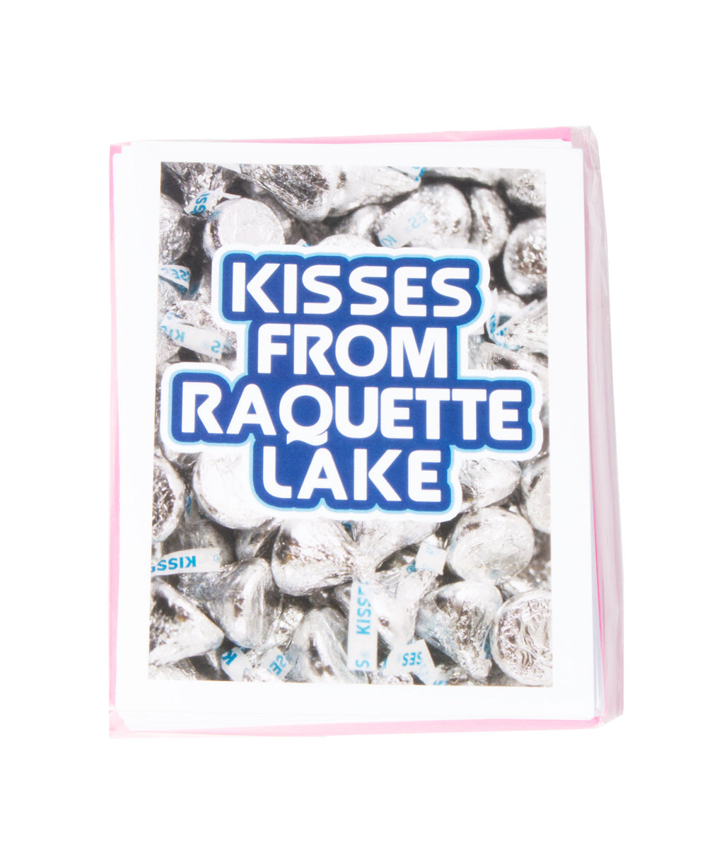 Pack of 10 Cards Camp Name Kisses