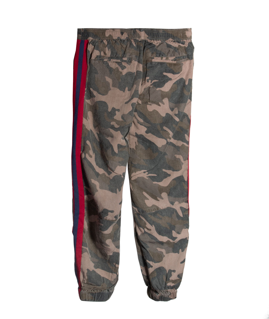 Vintage Havana Girls Camo Jogger with Stripe
