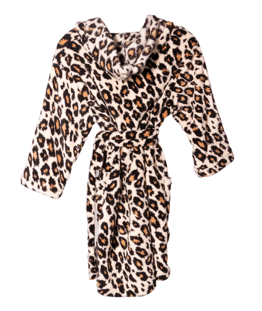 Made with Love and Kisses Leopard Robe