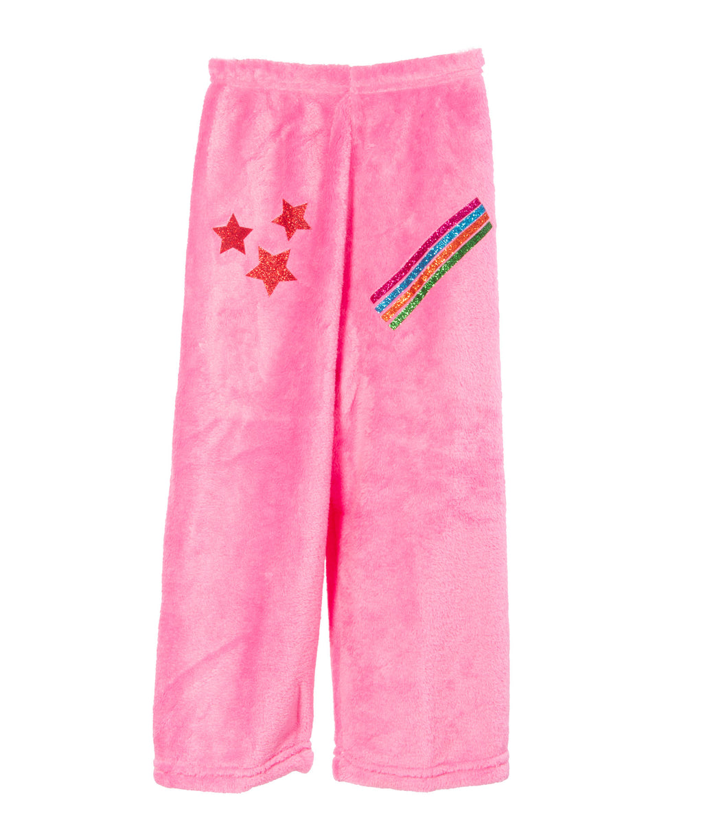 Made with Love and Kisses Rainbow Pink Pants