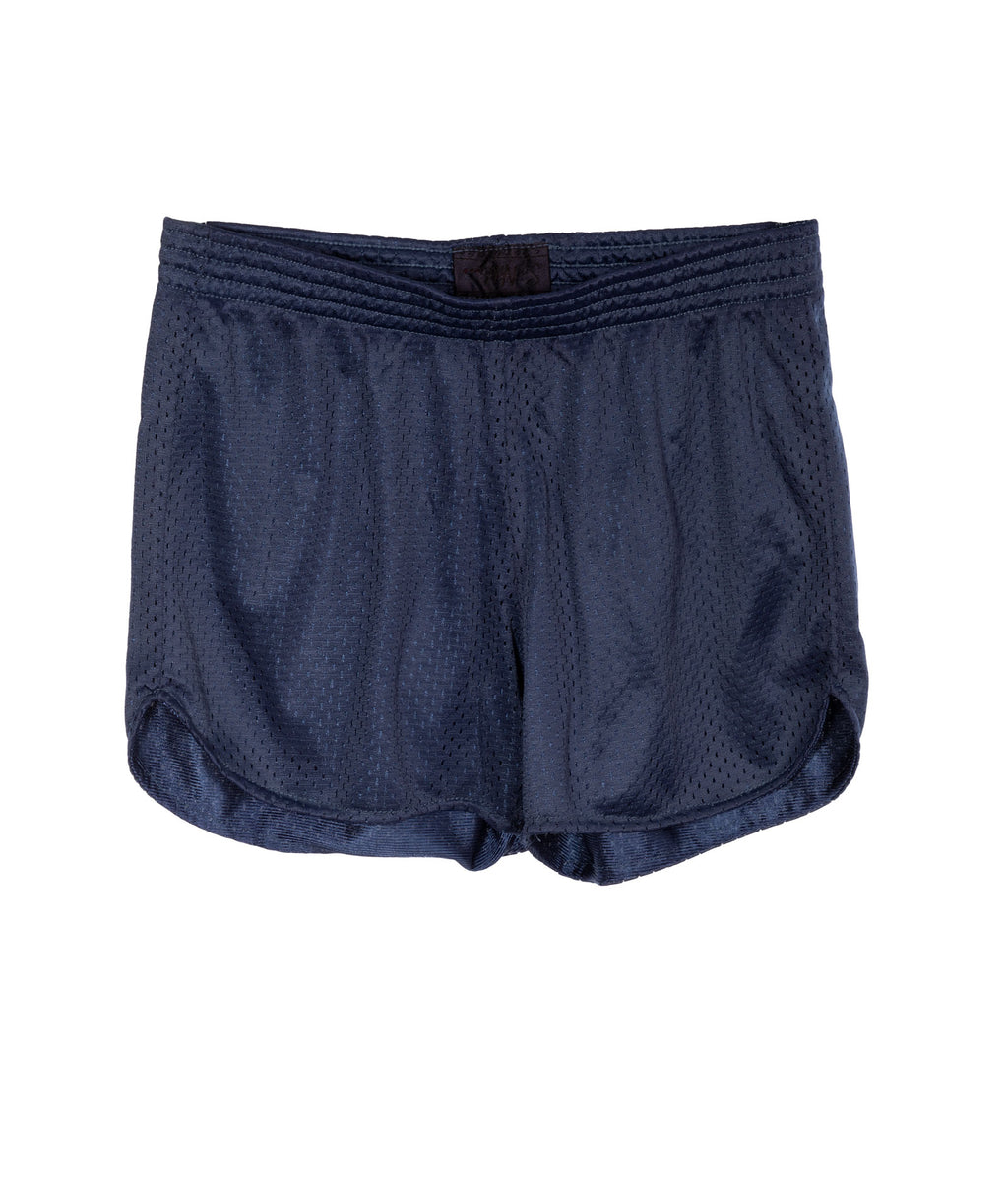 So Nikki Girls Navy Mesh Shorts