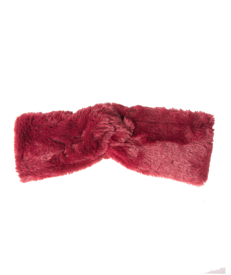 Fashionista J Faux Fur Headband