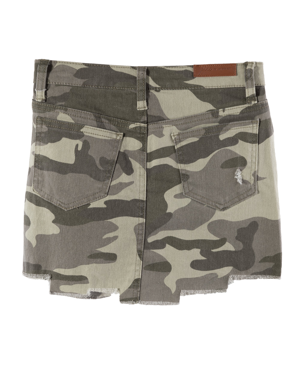 Pinc Premium Girls Camo Skirt
