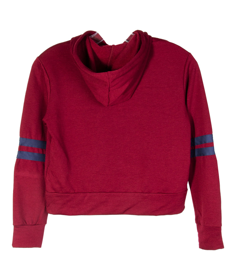 Sparkle by Stoopher Girls Maroon Pullover