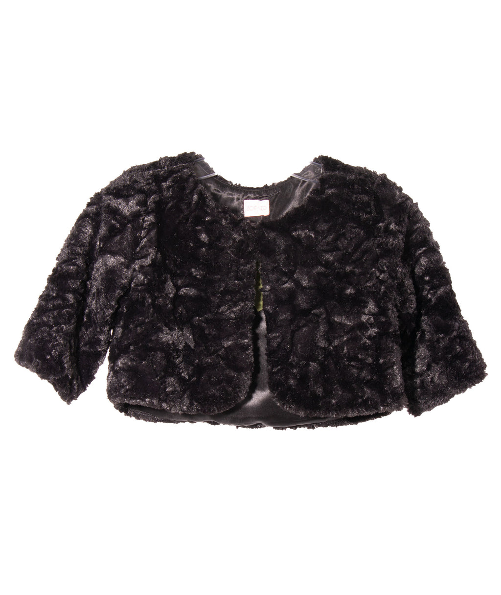 Zoe Ltd. Girls Fur Bolero