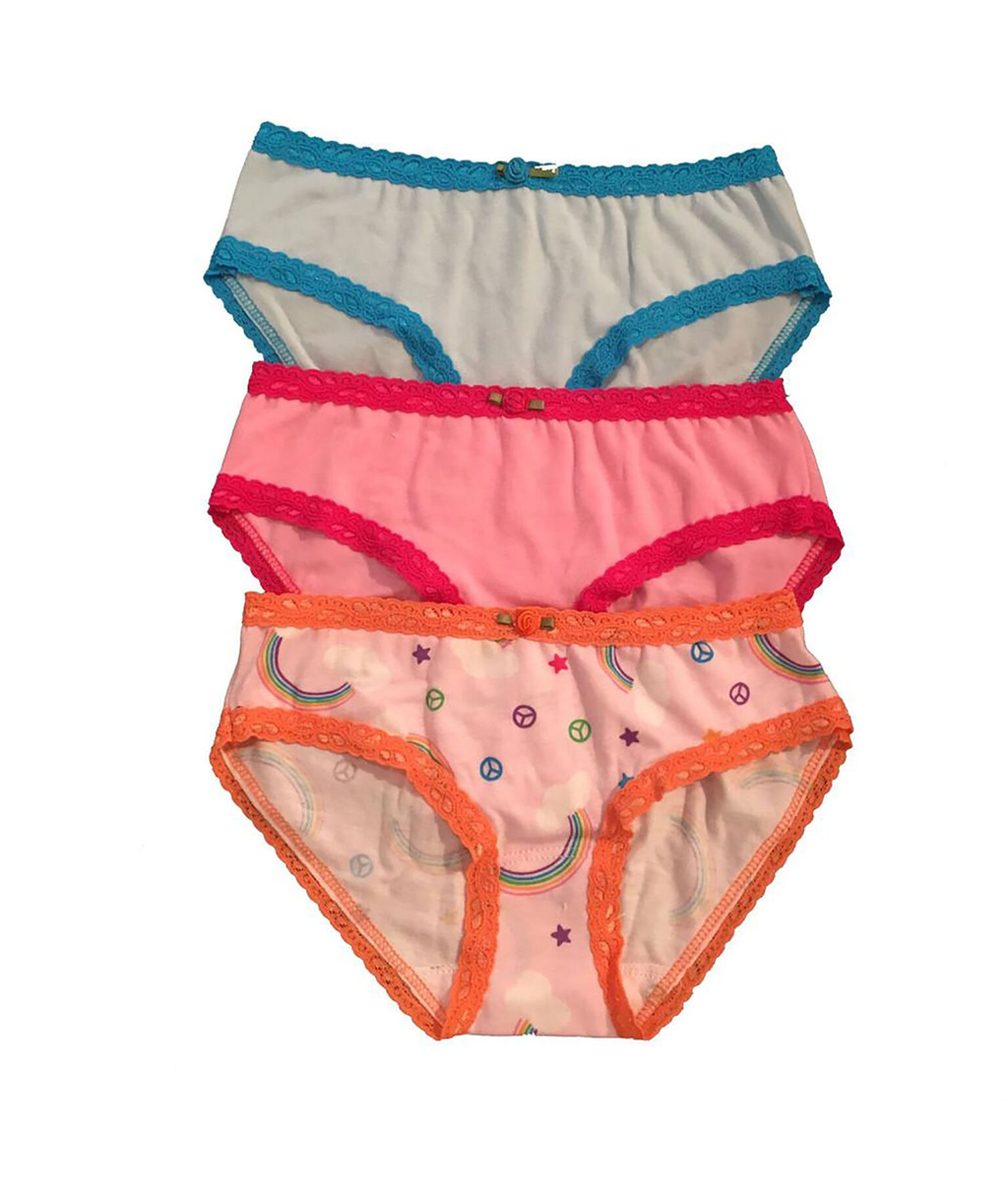 Esme Girls Rainbow Panty Pack
