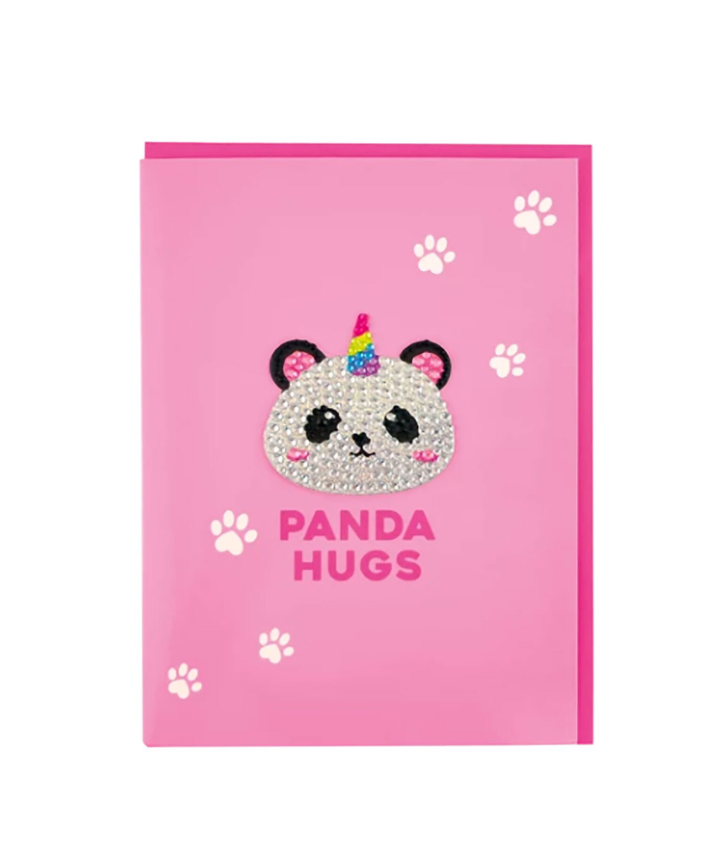 iScream Rhinestone Panda Card