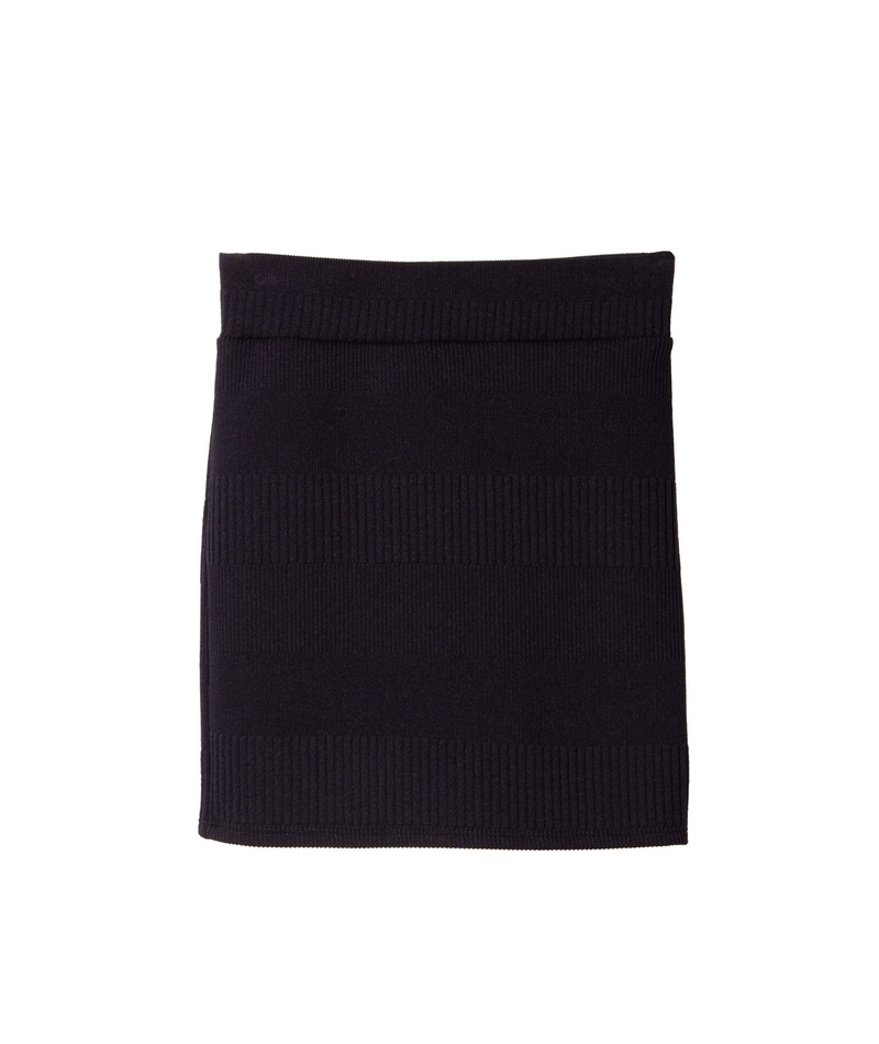 By Debra Girls Navy Herve Skirt