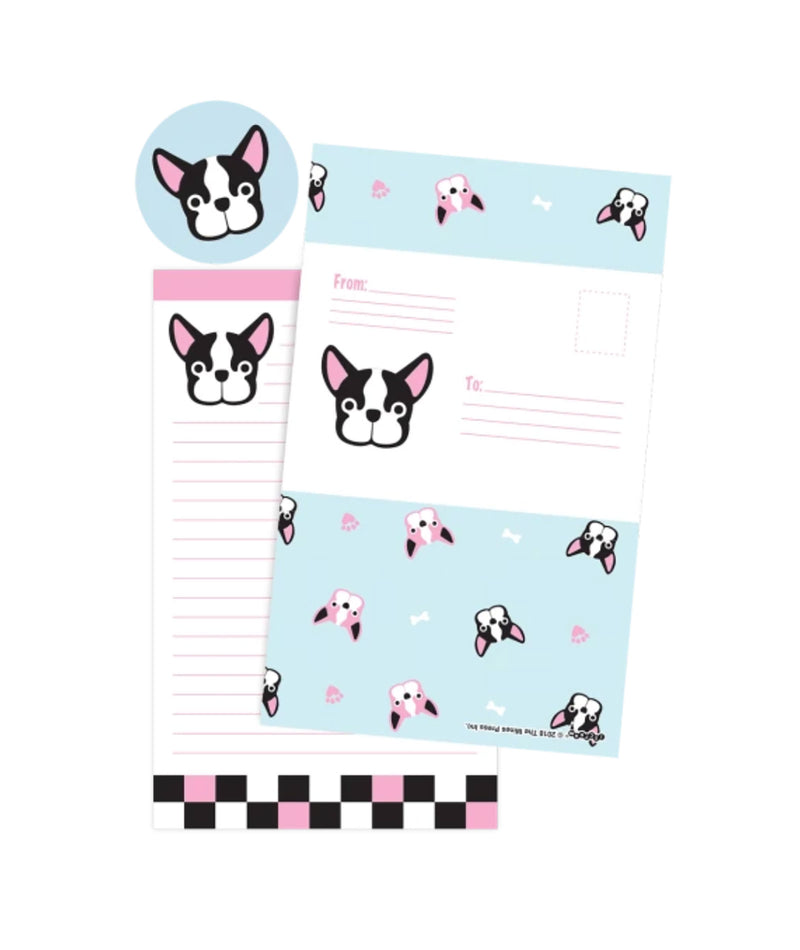 iScream French Bull Dog Fold Over Cards