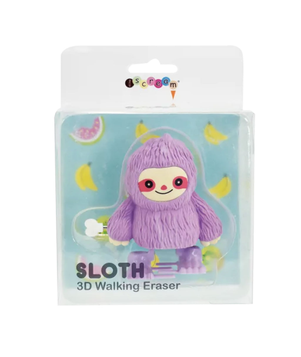 iScream Sloth Walking Eraser