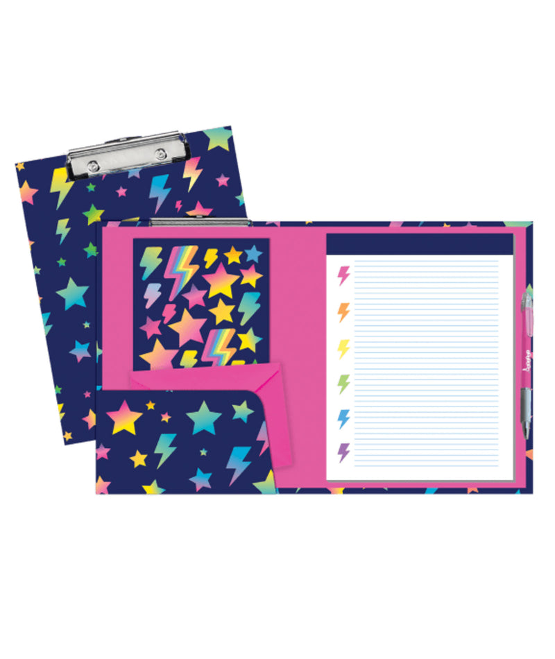 iScream Bolt Clip Board Stationery