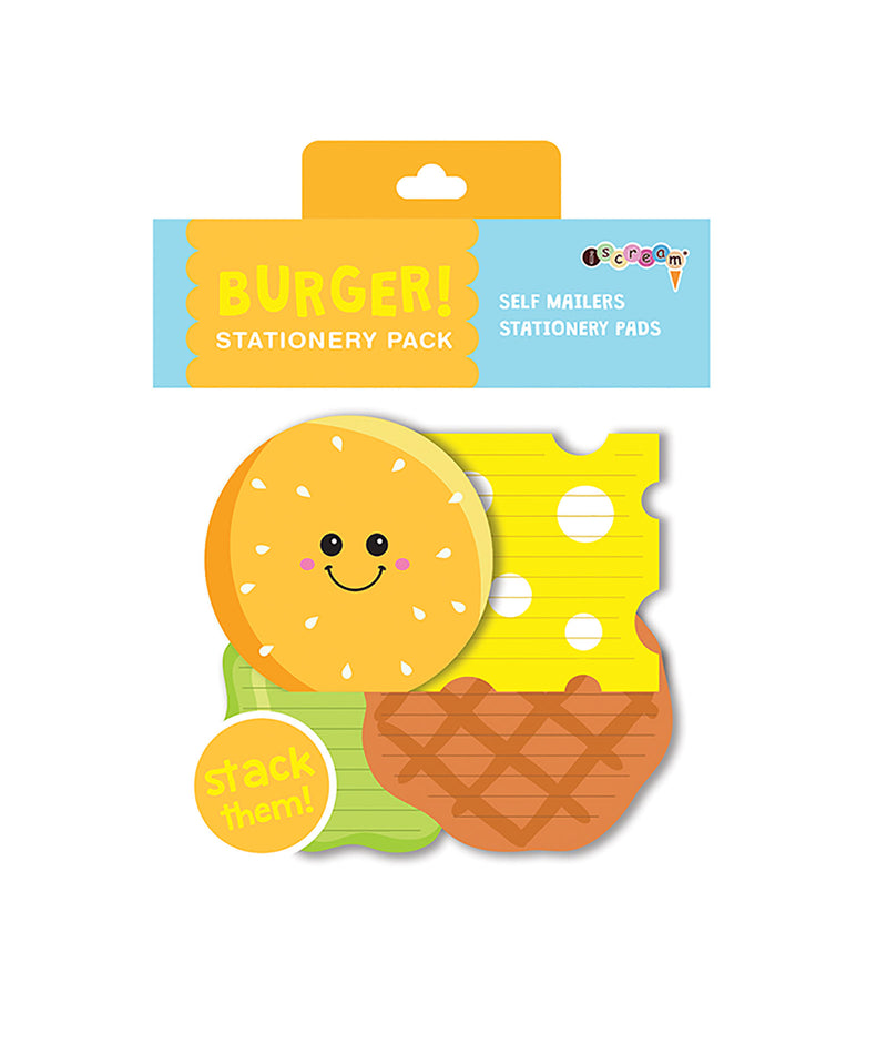 iScream Burger Stationary Set