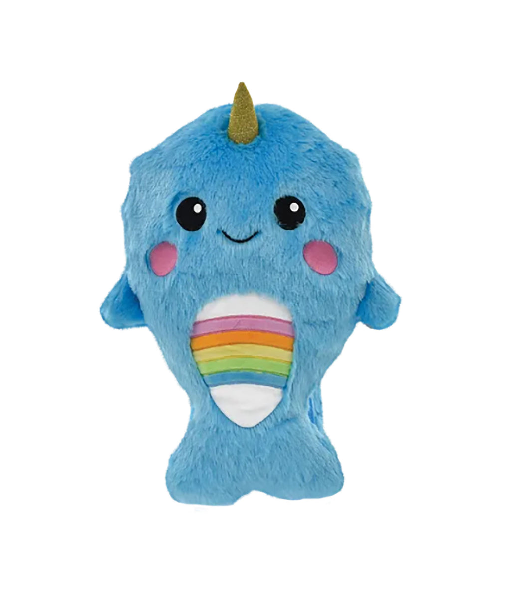 iScream Blue Fur Narwhal Backpack