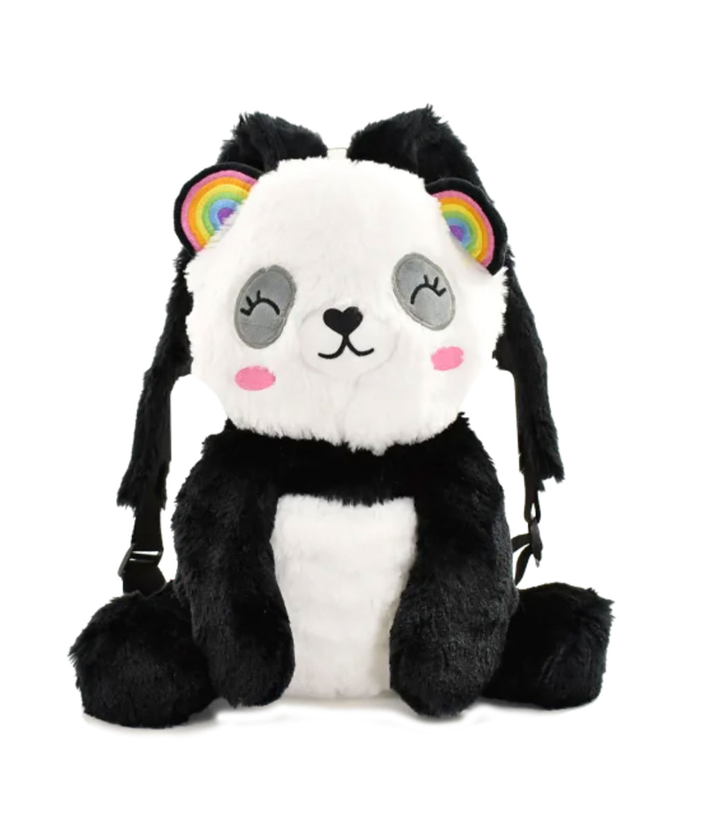 iScream Panda Fur Backpack