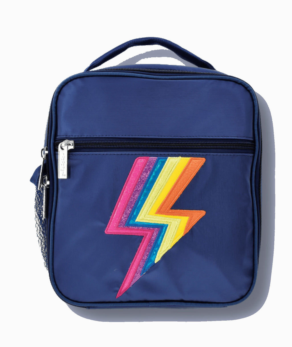 Iscream Metallic lightning Lunch Bag